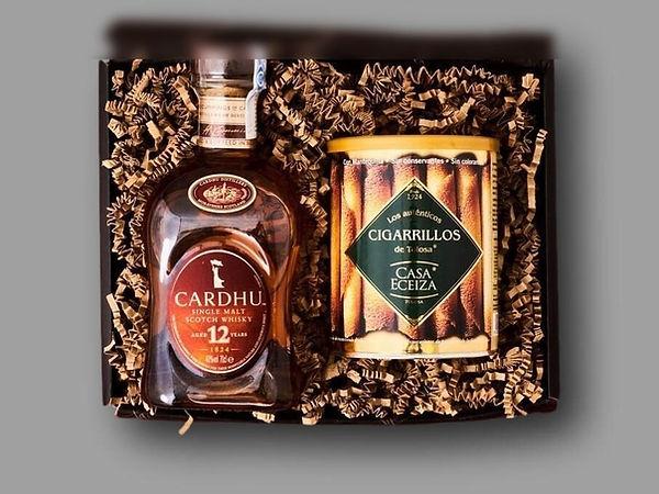 Caja de whiskey de regalo para empresas
