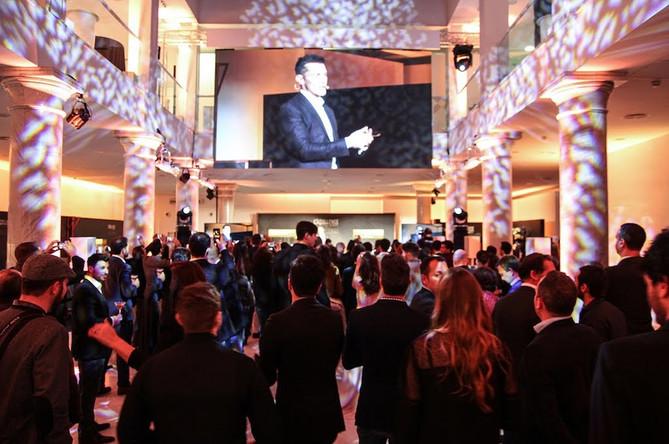 Entregas de premios en formato cócktail