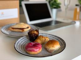 Desayuno virtual - kit de catering