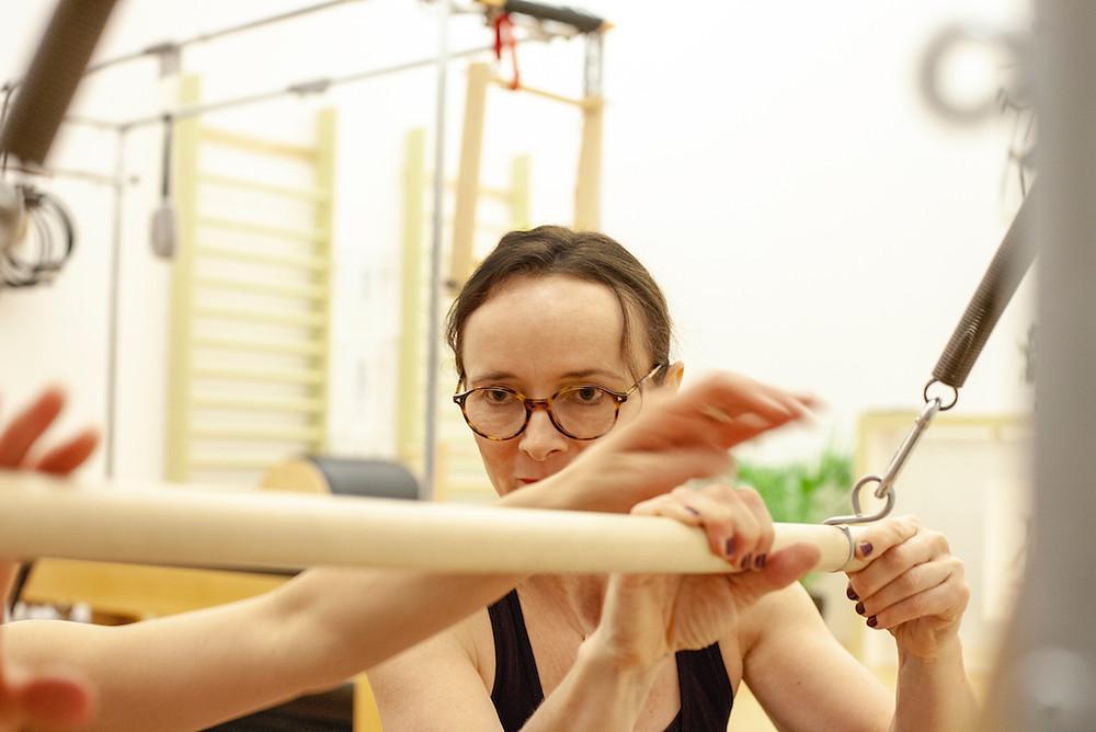 Faith Clements - Pilates instructor
