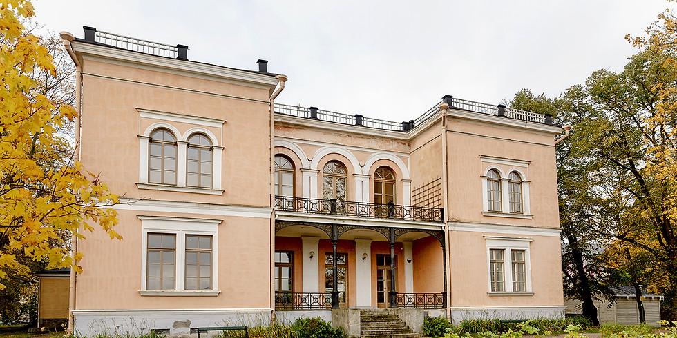 Besök till Villa Hagasund