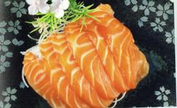 salmon sasaimi