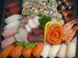 medium sushi & sashimi party tray
