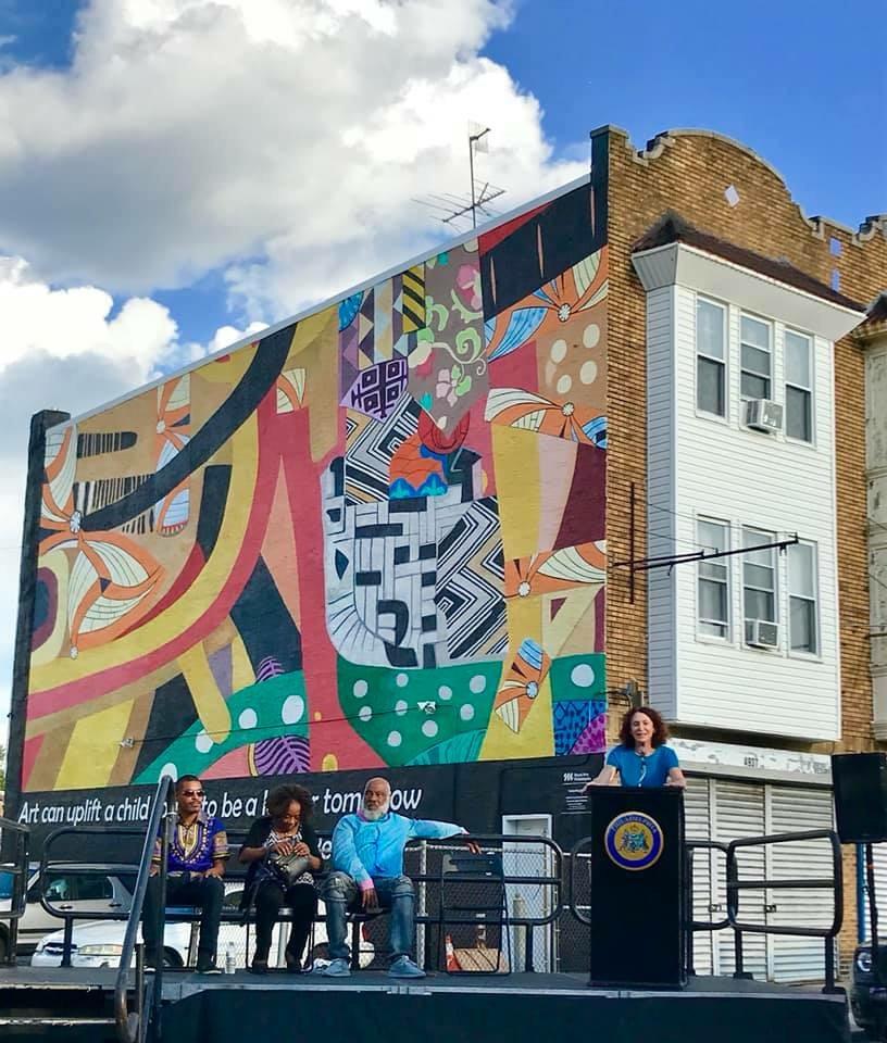 Kuba Kingdom Mural Dedication