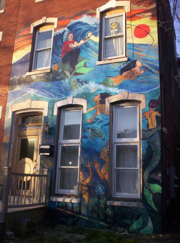 Mermaid Mural