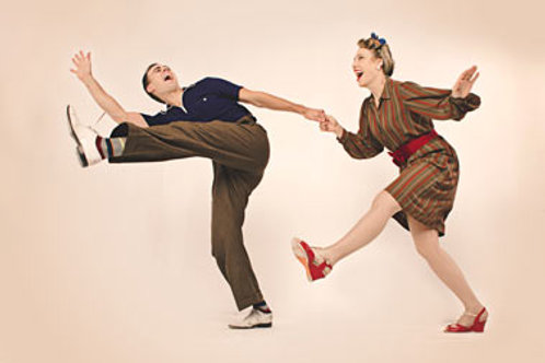 Lindy Hop Couples Private (1 hour Lesson)