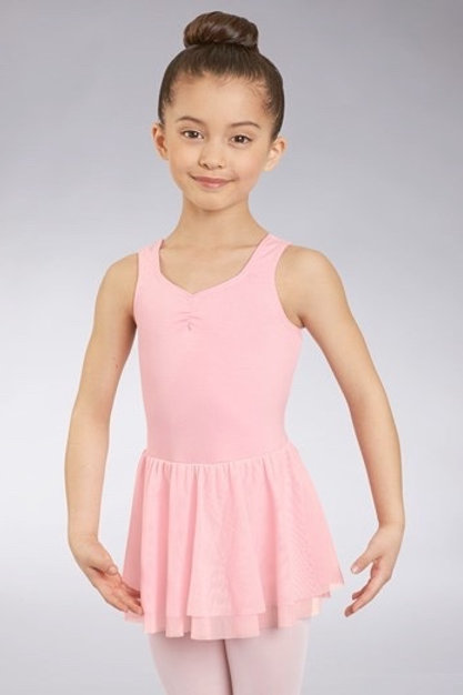 Kids Pinch Front Leotard and Skirt