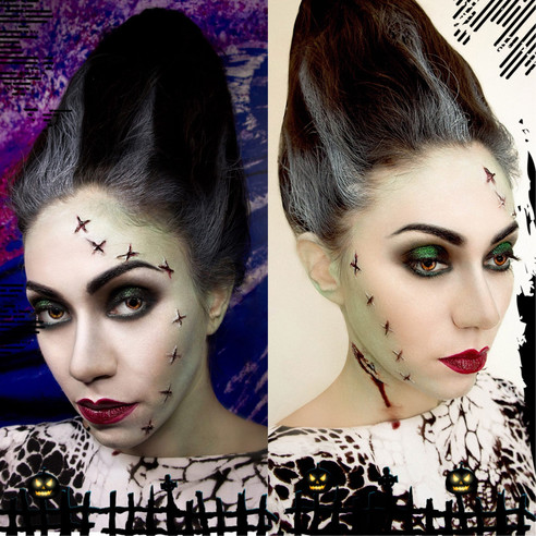 My Halloween Make-up for Oct 2015