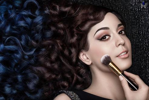 My beauty Shoot with Aziz Mahmood