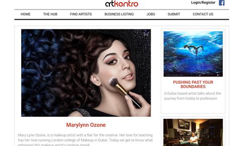 Feature in ArtKentro.com