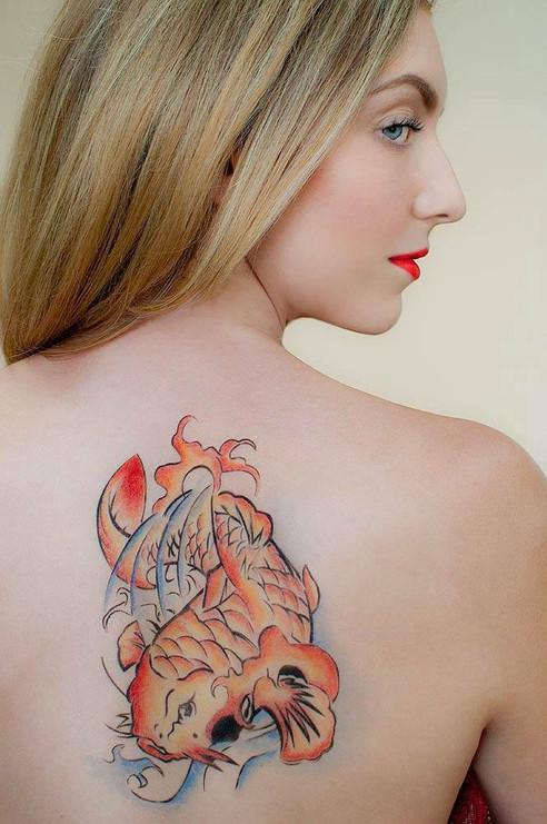 Semi Permanent Airbrush tattoo