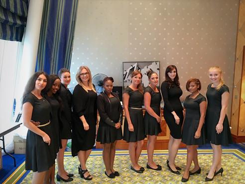 Make-up & Hair training at Burj Al Arab