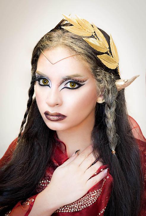 Elven look