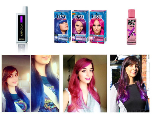 Bright hair colour recommendation