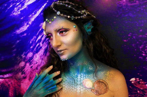Recent Demo: Mermaid creative look