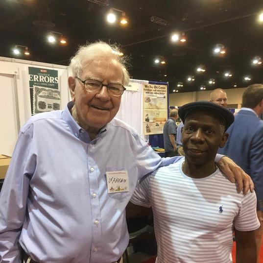 Warren Buffet and Clarence McKnight
