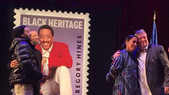 Savion Glover, Maurice, Gregory Hines brother and Daria Hines, Gregory Hines  daughter along with Tony Waag