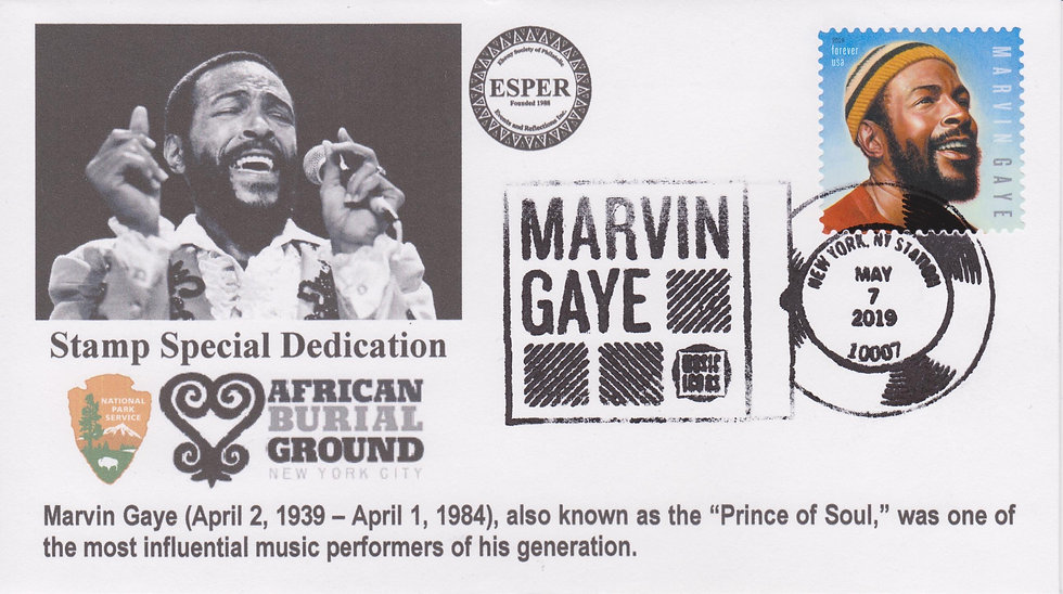Marvin Gaye African  Burial Ground NYC Cover