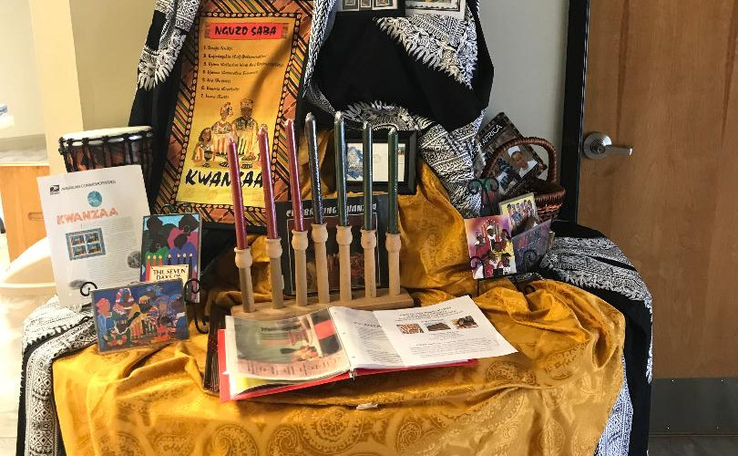 Kwanzaa  Exhibit Table