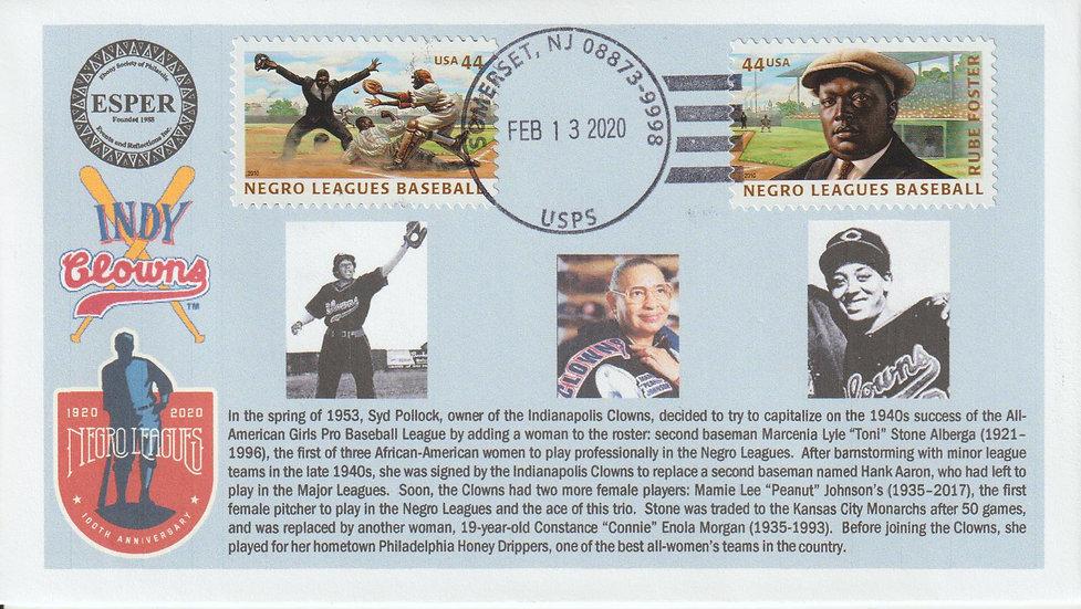 Negro Leagues Centennial - Women players in League