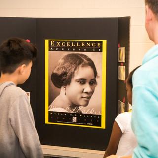 Looking at Madam C.J. Walker poster