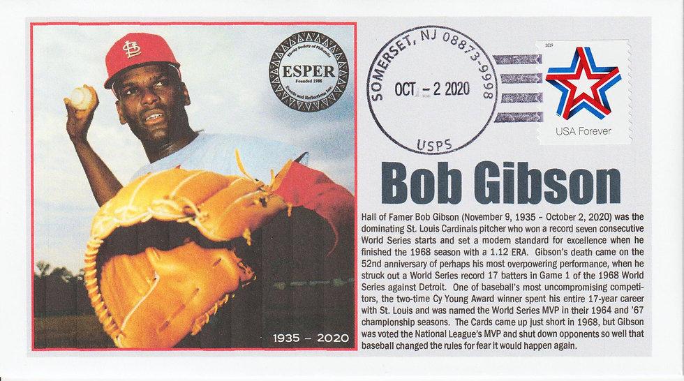 Bob Gibson Memorial Cover
