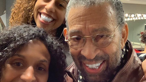 Chloe Arnold, Maurice Hines and Maud Arnold