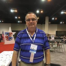 ESPER member and cachet maker Chris Lazaroff of South Carolina.
