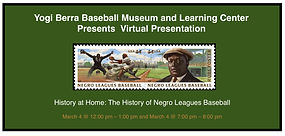 Yogi Virtual Presentation Negro League H