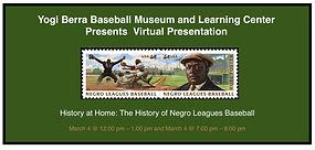 Yogi Virtual Presentation Negro League H