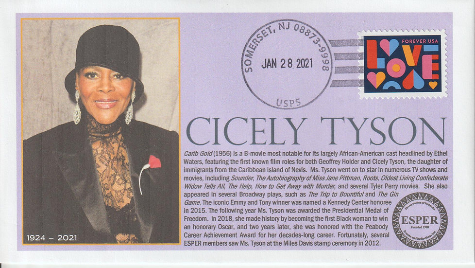 Cicely Tyson Memorial Cover