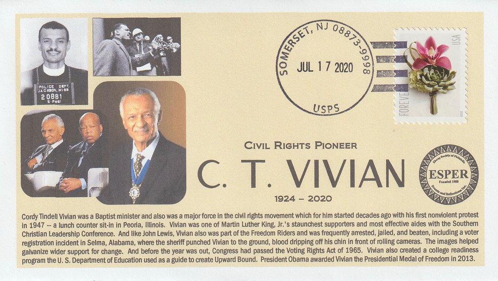 """C.T. Vivian """"Memorial Cover"""""""
