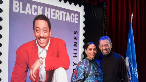 Maurice Hines and Daria Hines