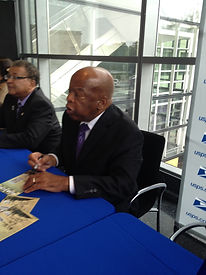 John Lewis signing program.jpg