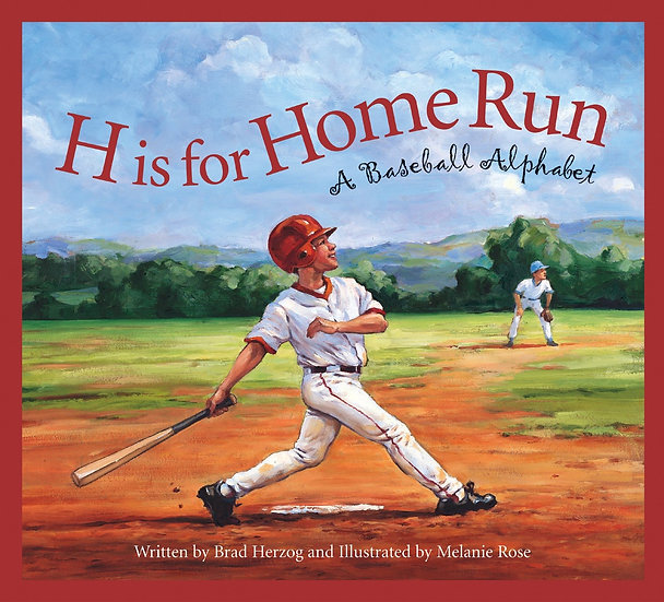 "H is for Home Run:  A Baseball Alphabet ""Stamp Activity Kit"""
