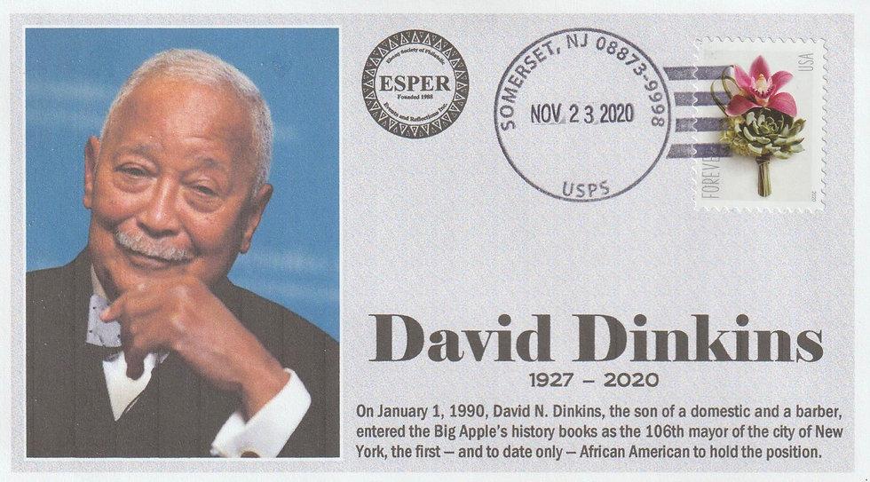 ESPER David Dinkins memorial cover