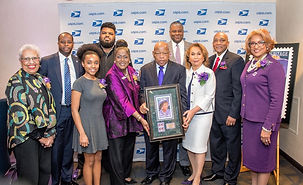 John Lewis at Heights stamp ceremony.JPG
