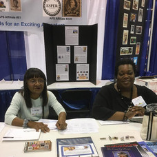 ESPER member Julie Leak of New York and ESPER President Warachal E. Faison of New Jersey.