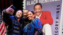Savion Glover, Maurice Hines and Daria Hines,