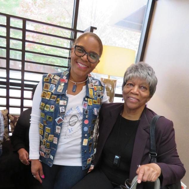 Karen Bertha and Dr. Esper Hayes