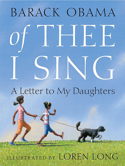 """Of Thee I Sing: A Letter to My Daughtersby Barack Obama. """"Stamp Activity Kit"""""""