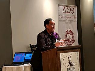 Bernice Fields speaking.JPG