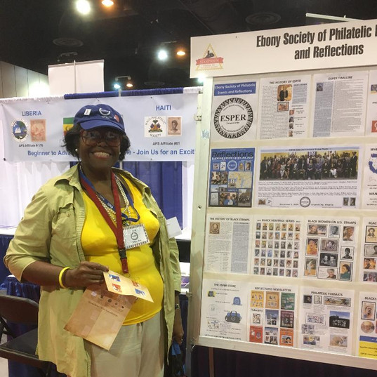 ESPER memberJane Mays of Philadelphia, Pennsylvania.