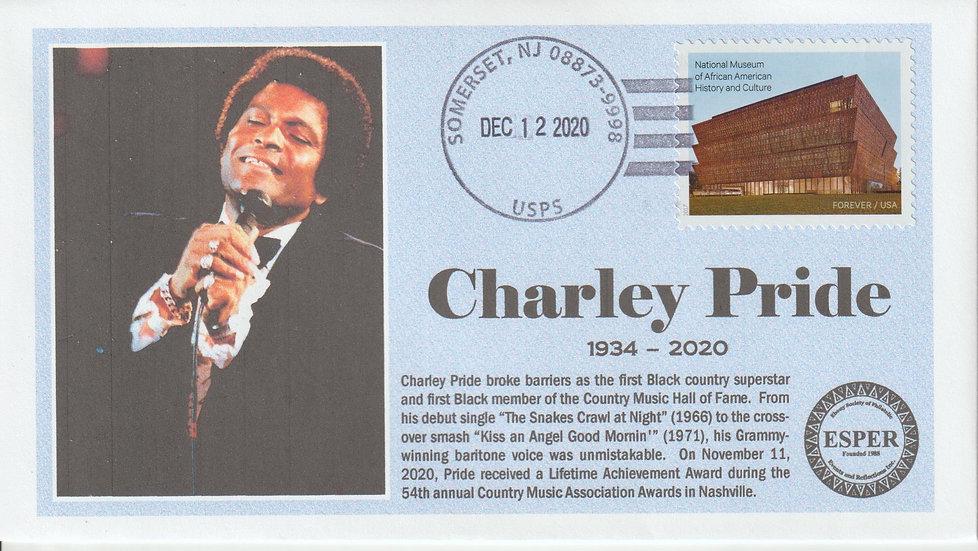 Charley Pride Memorial Cover