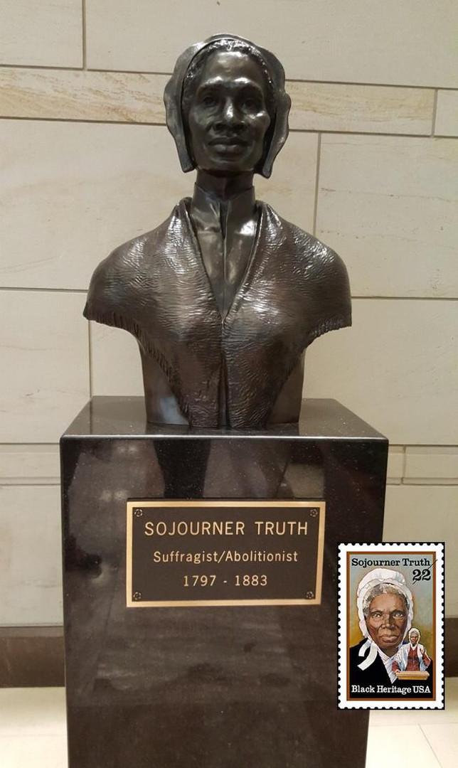 Sojourner Truth in the Rotanda