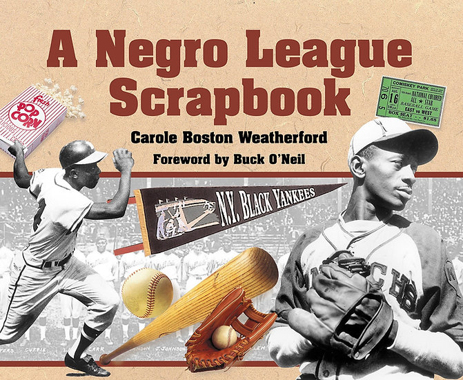 "A Negro League Scrapbook ""Stamp Activity Kit"""
