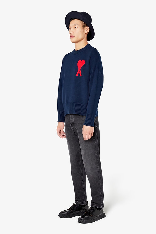 AMI Paris Oversize Crewneck Sweater