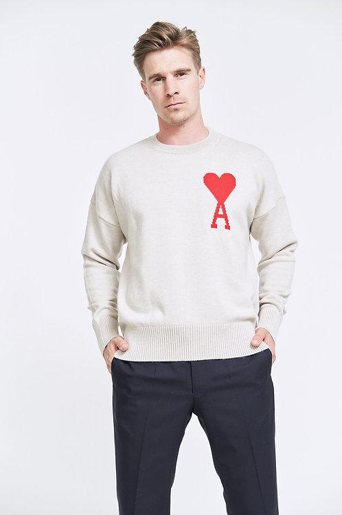 AMI de Coeur Oversize Crewneck Sweater