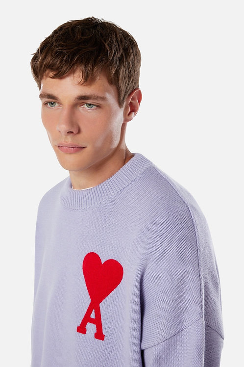 AMI Paris Oversize Crewneck Sweater