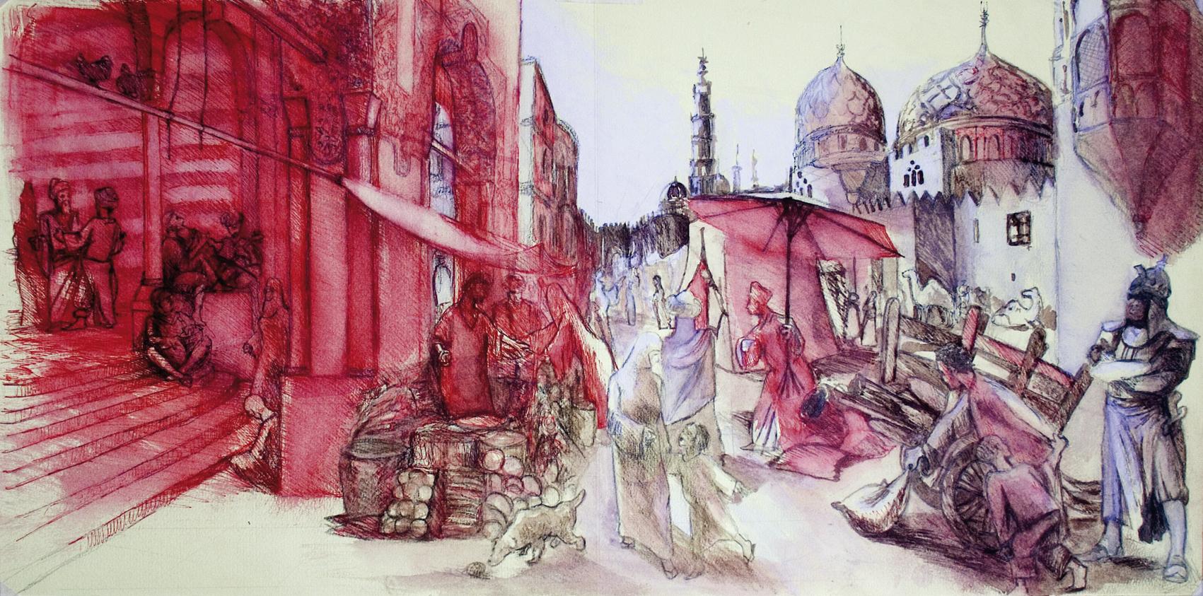 mercato arabo